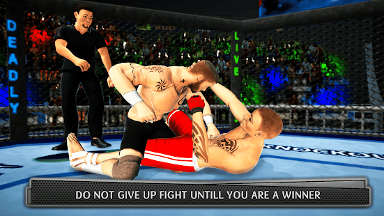 Real MMA Fighting 3D: Kungfu Martial Arts Fighting