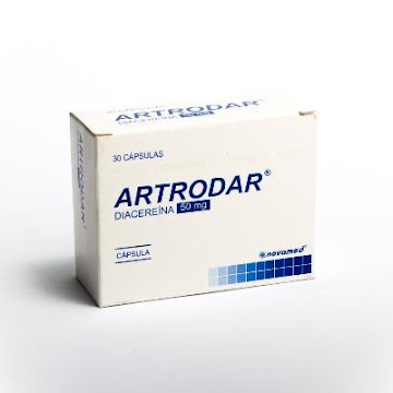 Artrodar 50mg Capsulas Caja X30cap Novamed Diacereina