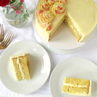 Classic Vanilla Cake.