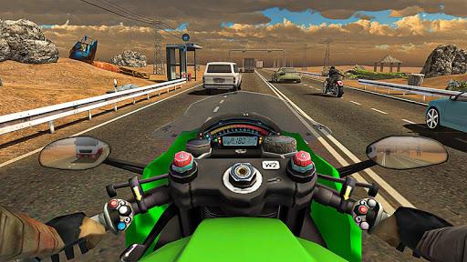 Racing In Moto Traffic Stunt Race 1.14 screenshots 1