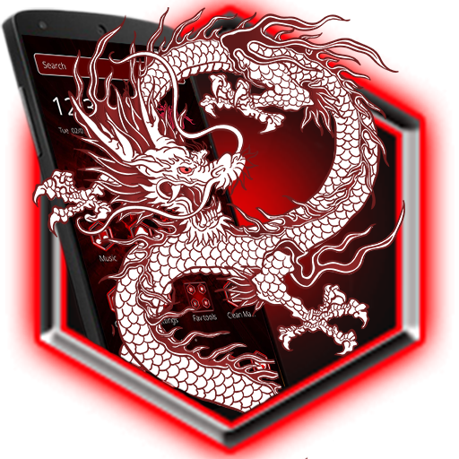White Red Dragon Fire Theme Apps On Google Play