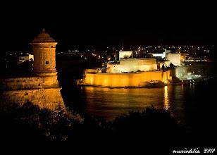 Photo: St Angelo From Valletta
