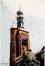 Photo: De Gasthuistoren van Zaltbommel. Liszt hoorde het carillon op 19 november 1842 op zijn stoombootje op de Waal en liet zich aan wal zetten om even daarna kennis te maken met stadsbeiaardier Carolus Leenhoff