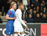 Birkir Bjarnasson (ex-Standard) est blessé et ne jouera pas avec l'Islande face à la Belgique