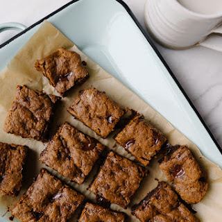 DARK CHOCOLATE CHUNK MOLASSES BLONDIES