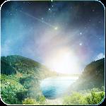 Meteor flying heaven Wallpaper Icon