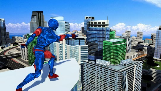Mutant Spider Hero: Miami Rope hero Game 2