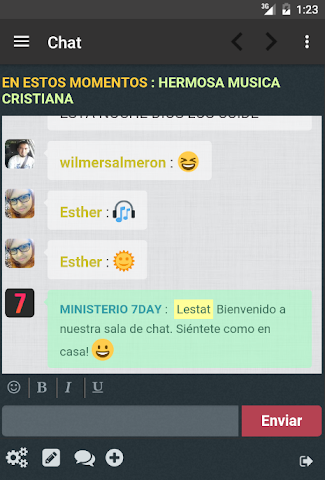android Ministerio 7Day (App Oficial) Screenshot 16