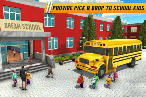 Code Triche City Coach Bus Jeux de conduite APK MOD (Astuce) screenshots 1
