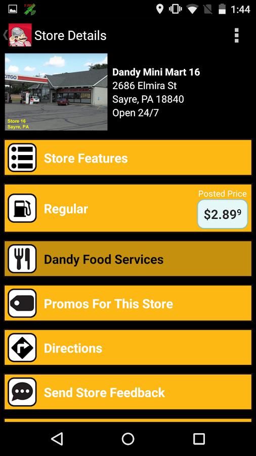 Dandy App- screenshot
