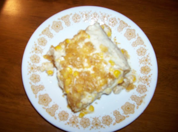 Custard Filled Corn Bread Recipe