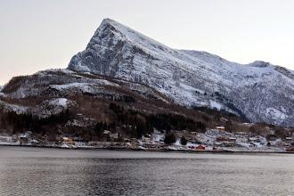 Photo: Sailing towards Bodo heading toward the Arctic Circle