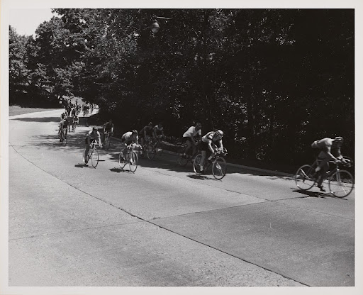 Olympic Trials Central Park Summer 1960 [bicycles]