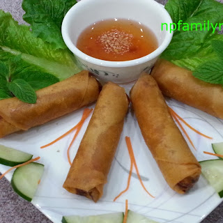 Vietnamese Egg Roll (Chả Giò)
