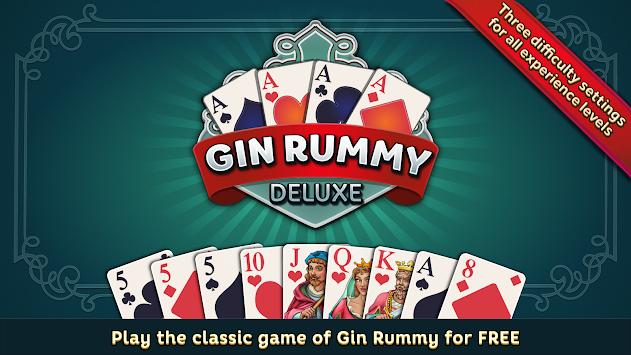 Gin Rummy Deluxe apk screenshot