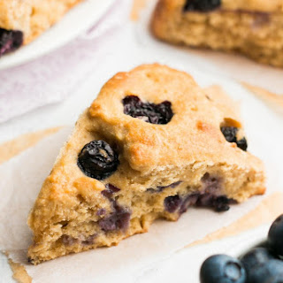 The Ultimate Healthy Blueberry Scones.