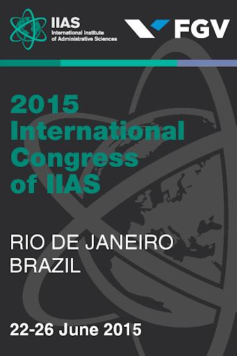 IIAS Congress 2015