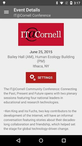 Cornell University Events