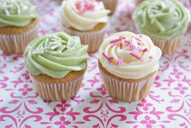 Healthier Mini Vanilla Cupcakes Recipe