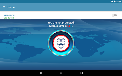 VPN+TOR+Cloud VPN Globus Pro!- screenshot thumbnail