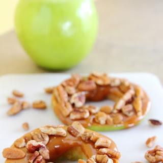 Pecan Caramel Apple Rings