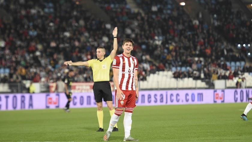 Coric está jugando poco en el Almería.