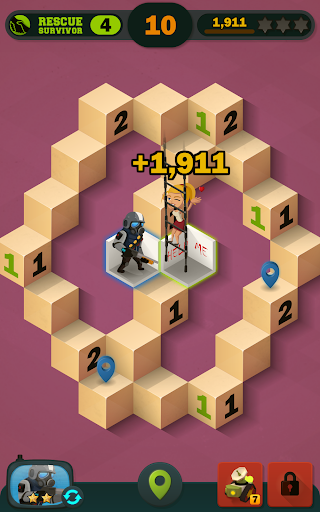 Zombie Sweeper: Minesweeper Action Puzzle 1.1.015 screenshots 14