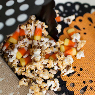 Caramel Candy Corn Popcorn