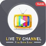 Live TV Channels Online Guide - Free Live TV Guide icon