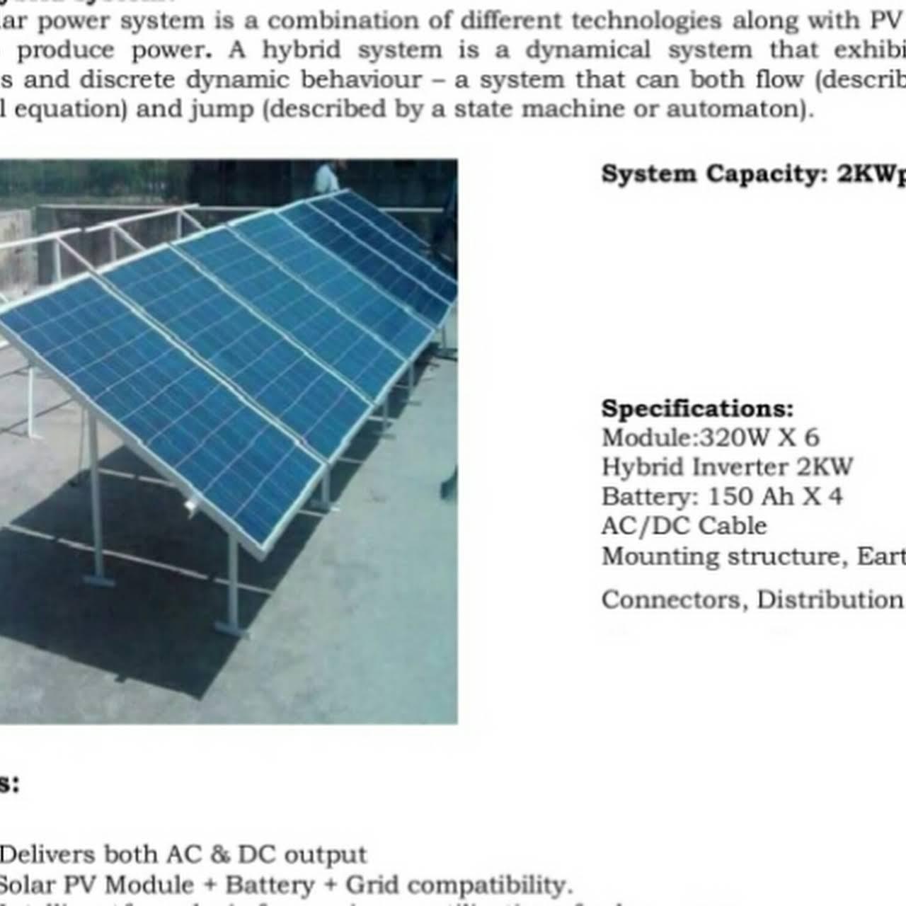 Bandana Solar - Solar Panel- Solar Water Heater, Solar Home Lighting ...