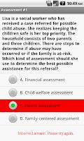 Screenshot of Social Work Masters Exam Prep