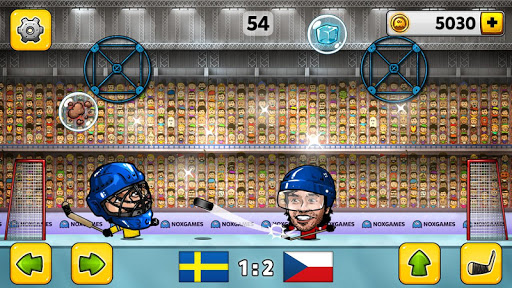 Puppet Hockey: Pond Head  - screenshot