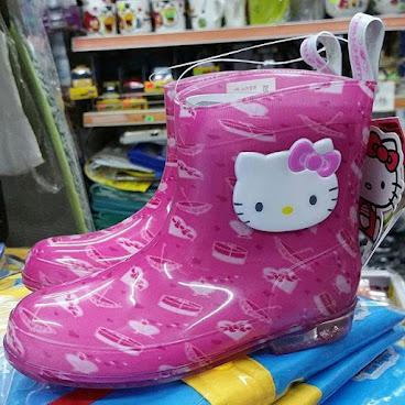 店取9折_韓國進口Hello Kitty 兒童水鞋 雨靴