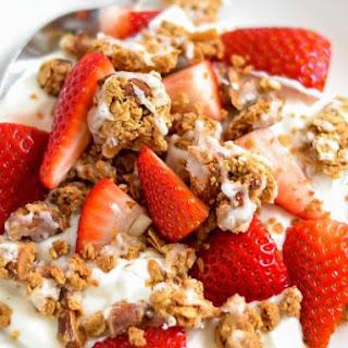 Yogurt Almond Granola Clusters