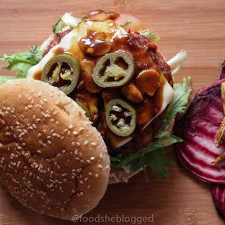 The Chacko - Grilled Teriyaki Burger with Mushrooms