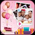 Birthday Video Maker 2021 icon