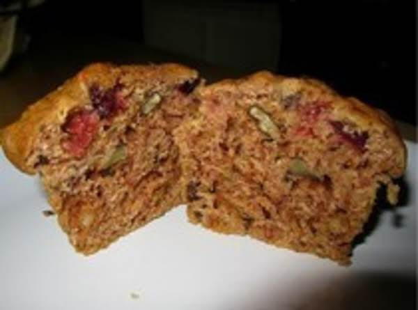 Zucchini, Cranberry And Pecan Muffins Recipe