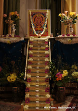 Photo: The 18 steps leading to Ayyappa