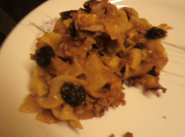 Sweet Kugel With Apples And Raisins Recipe