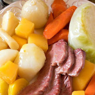 New England Boiled Dinner (Corned Beef and Cabbage)