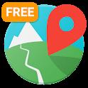 E-walk Free - Offline maps icon