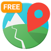 E-walk Free - Offline hiking & trekking