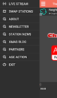 Screenshot of Christmas FM