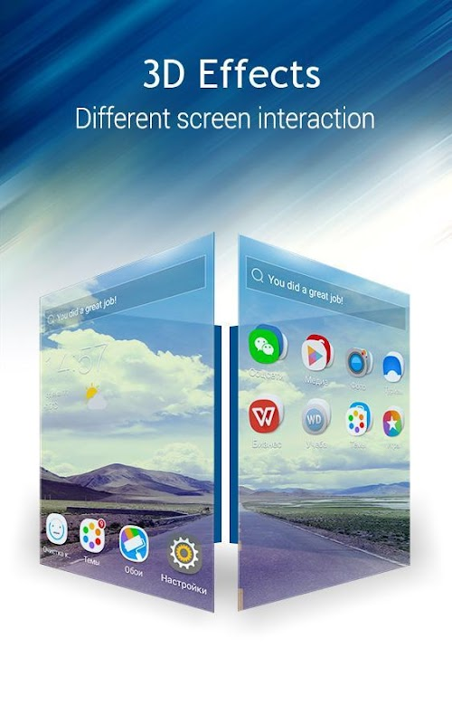 C Launcher: Themes, Wallpapers, DIY, Smart, Clean screenshots