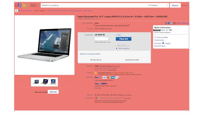 eBay Blacklist