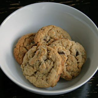 Mmm … Peanut Butter Chocolate Oatmeal Cookies.