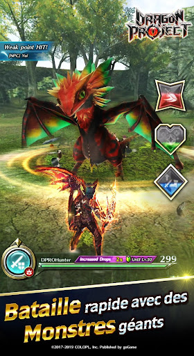Code Triche Dragon Project APK MOD (Astuce) screenshots 3