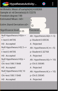 Factor Analysis for Android - náhled