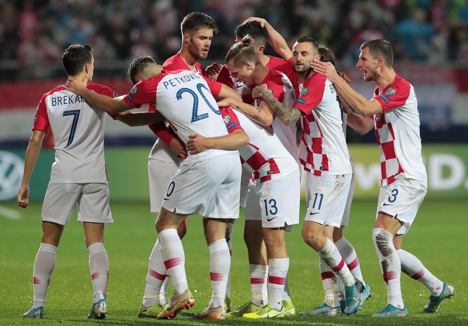 Хорватия первой прошла групповой отбор Евро 2020