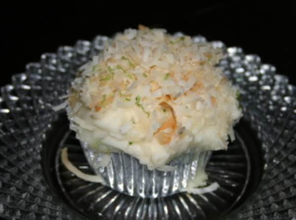 Coconut Lime Cake/cupcake Recipe